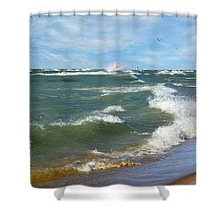 Shower Curtain featuring the photograph When No One's Watching by Kathi Mirto