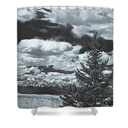 When Silence Speaks For Love, She Has Much To Say, Wrote Richard Garnett.  Shower Curtain