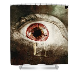 Shower Curtain featuring the photograph When Souls Escape by Jorgo Photography - Wall Art Gallery