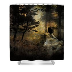 When The Forest Calls Shower Curtain