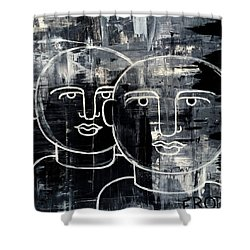 When The Goings Get Tough 50x50 Print By Erod Shower Curtain