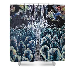 When The Journey Is Done Shower Curtain by Cheryl Pettigrew