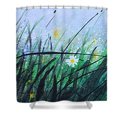 When The Rain Is Gone Shower Curtain