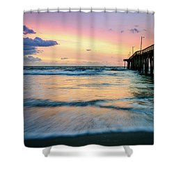 When The Tides Return Shower Curtain