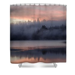 When Time Stands Still Shower Curtain