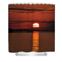 Shower Curtain featuring the photograph When You See Beauty by Jan Amiss Photography