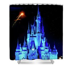 When You Wish Upon A Star Shower Curtain