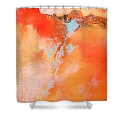 Where Am I 3 Shower Curtain by M Diane Bonaparte
