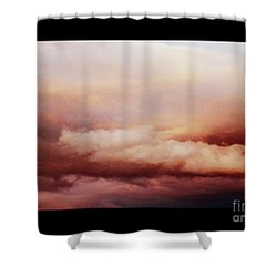 Where Angels Live Shower Curtain