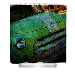 Where Are The Good Old Days Gone Shower Curtain by Susanne Van Hulst