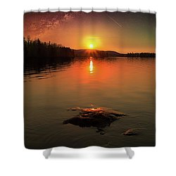 Where Heaven Touches The Earth Shower Curtain