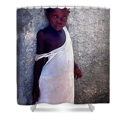 Where Is Compassion Shower Curtain