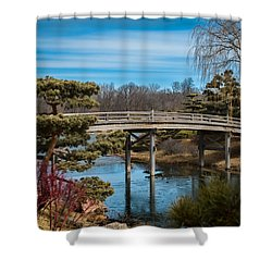 Where Is Spring? Shower Curtain
