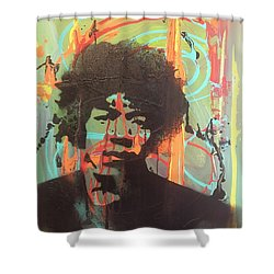 Where My Baby Stay's Shower Curtain