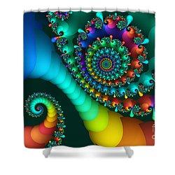 Where Rainbows Are Made Shower Curtain by Jutta Maria Pusl