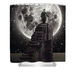 Where The Moon Rise Shower Curtain