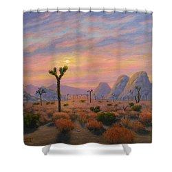 Where The Sun Sets Shower Curtain