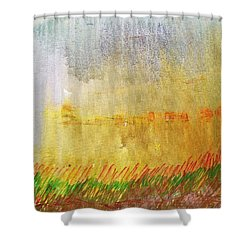 Where The Tall Grass Grows Shower Curtain