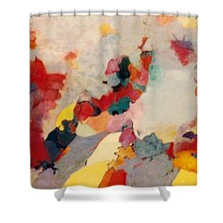 Where There Is Smoke Shower Curtain by Bernard Goodman