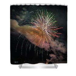 Shower Curtain featuring the photograph Where There's Smoke by Bill Pevlor