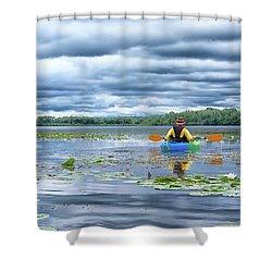 Where We Belong Shower Curtain