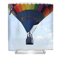 Where Will The Winds Take Us? Shower Curtain