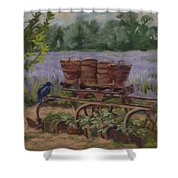 Where's The Seed? Shower Curtain by Jane Thorpe