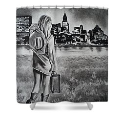 Wherever Your Dreams May Take You Shower Curtain by Carla Carson