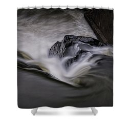 Whetstone Canyon Shower Curtain by Tom Singleton