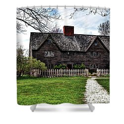 The John Whipple House In Ipswich Shower Curtain
