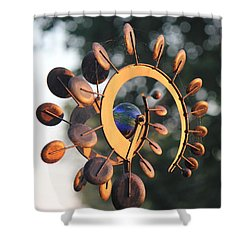 Whirlygig Shower Curtain