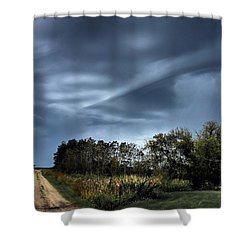 Whirrelll Shower Curtain
