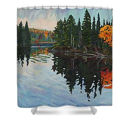 Whiskey Jack Bay Shower Curtain