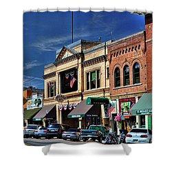 Whiskey Row - Prescott  Shower Curtain