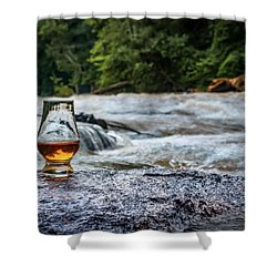Whisky River Shower Curtain