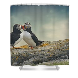 Whispered Secrets Shower Curtain