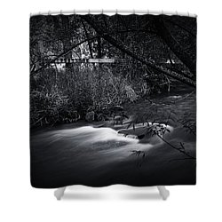Whispering Brooke Shower Curtain