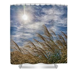 Whispering Grasses Shower Curtain