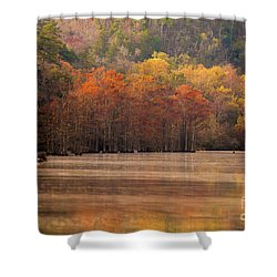 Whispering Mist Shower Curtain