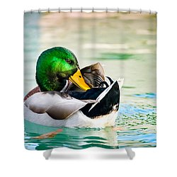 Shower Curtain featuring the photograph Whispering Secrets by Steven Santamour