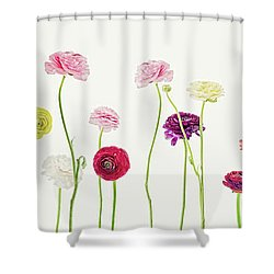 Whispering Spring Shower Curtain
