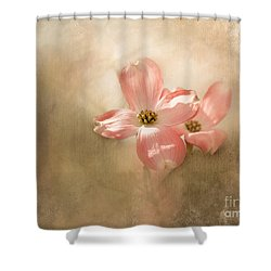 Whispers From Heaven Shower Curtain by Brenda Bostic