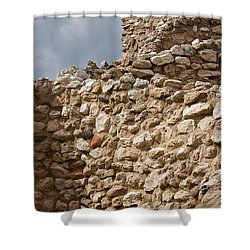 Shower Curtain featuring the photograph Whispers From The Past by Phyllis Denton