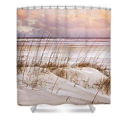Shower Curtain featuring the photograph Whispers In The Dunes by Debra and Dave Vanderlaan