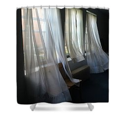 Whispers In The Wind Shower Curtain by Joyce Wasser