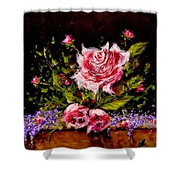 Whispers Of Love.. Shower Curtain by Cristina Mihailescu