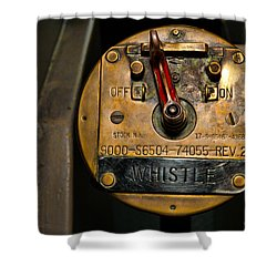 Whistle Switch Shower Curtain