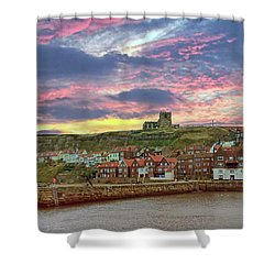 Whitby Abbey Uk Shower Curtain