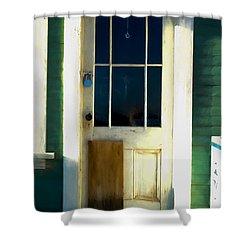 White Door -da- Shower Curtain