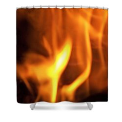 Shower Curtain featuring the photograph White Hot by Betty Northcutt